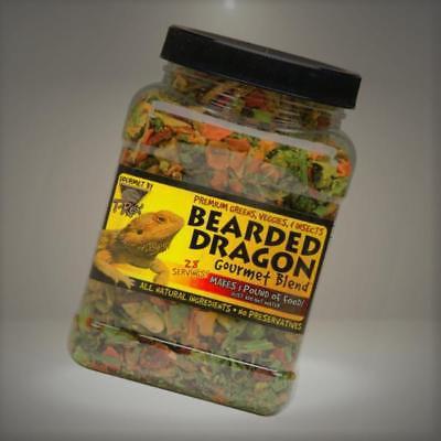 T-Rex Bearded Dragon Gourmet Food Blend, 4 oz.