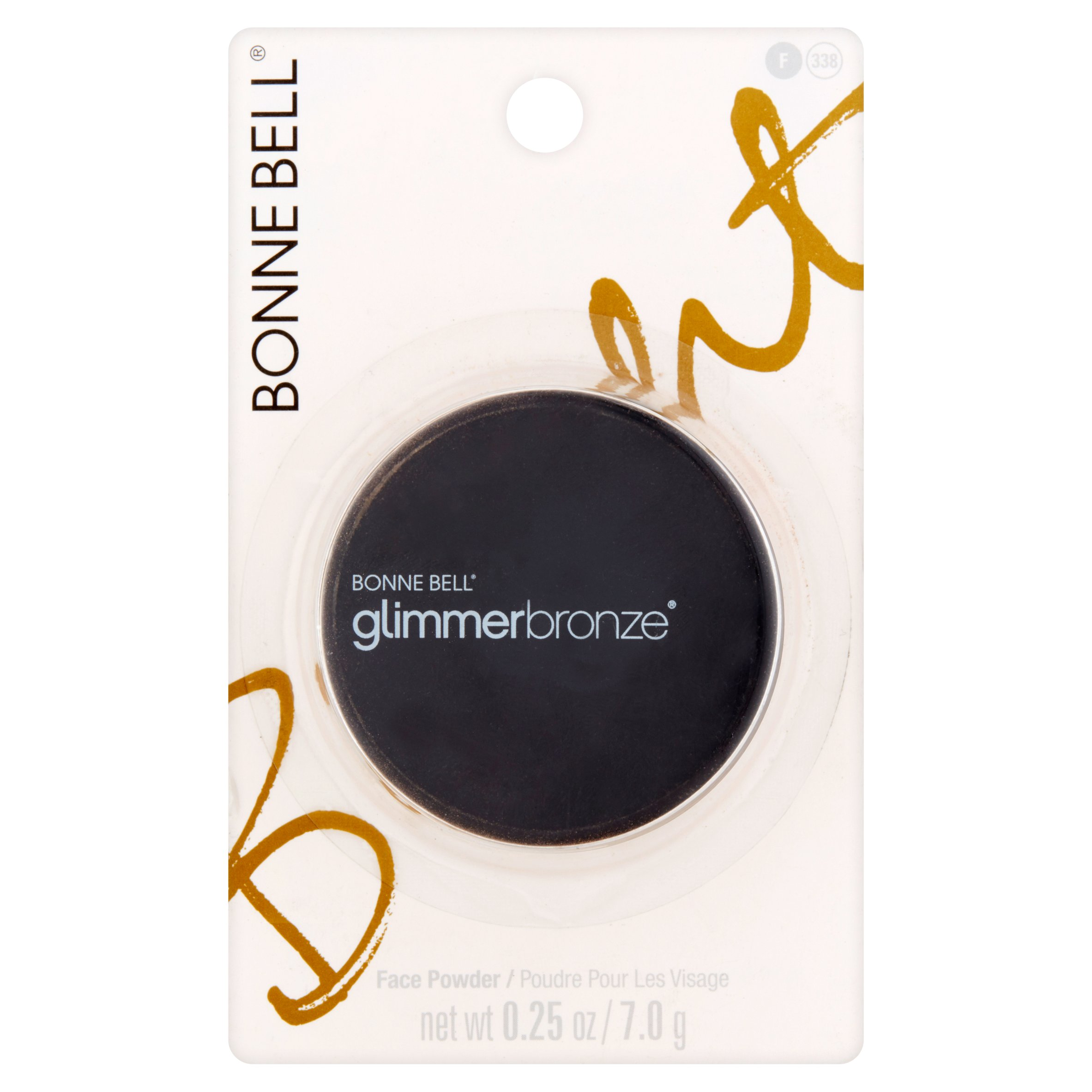 Bonne Bell Glimmerbronze Gold 'N Glitz Face Powder, 0.25 oz