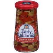 (3 Pack) Musco Family Olive Co. Early California Pimiento Sliced Manzanilla Olives, 5.75 oz