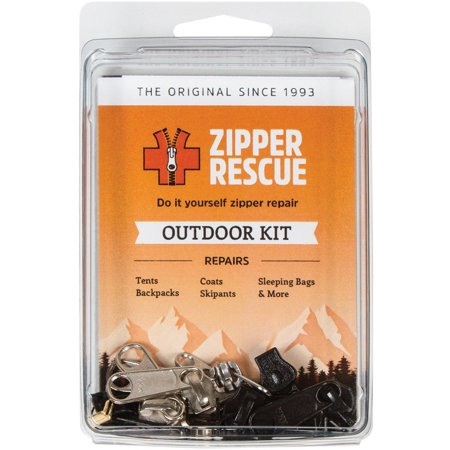 , Zipper Repair Kit, Outdoor, VERSATILE ZIPPER REPAIR KIT - Provides replacement parts for zipper repair on outdoor gear such as tents, coats,.., By Zipper Rescue