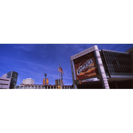 Quicken Loans Arena In Cleveland Ohio Usa Canvas Art   Panoramic Images  36 X 12