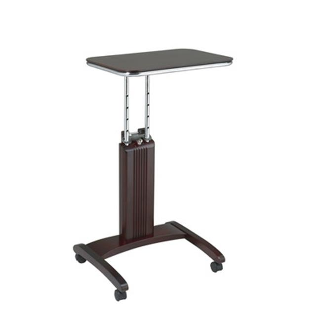 Avenue 6 Office Star PSN623 Precision Laptop Stand in Mahogany Finish