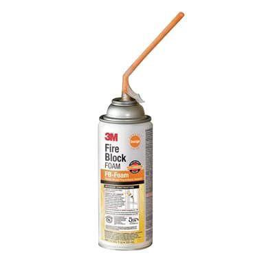 3M FB-FOAM-ORANGE Fire Block Sealant,12 oz.,Orange,Aerosol