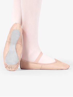 Child Premium Leather Full Sole Ballet Shoes
