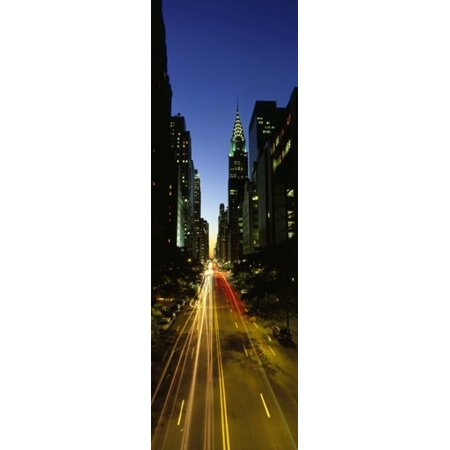 Lexington Avenue Cityscape NYC New York City New York State USA Poster Print