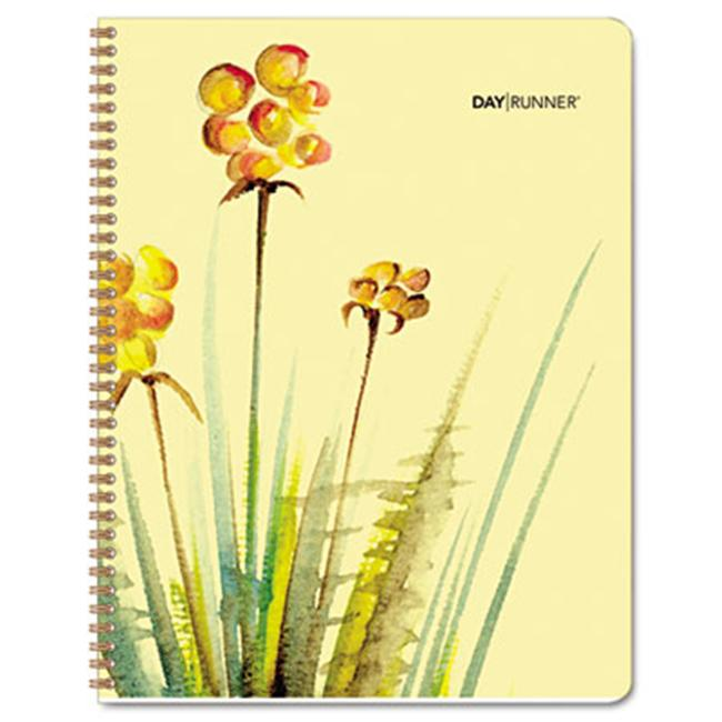 Day Runner 791-800G Watercolors Two Year Monthly Planner
