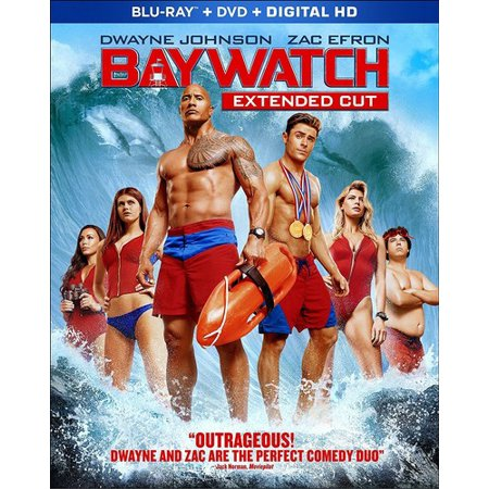 Baywatch (Blu-ray + DVD + Digital)