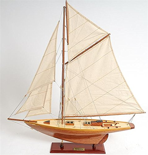 Old Modern Handicraft 36.2 in. Penduick Boat