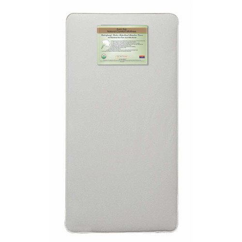 L.A. Baby Organic Cotton Natural  312 Coil Mattress with Organic Cotton Cover