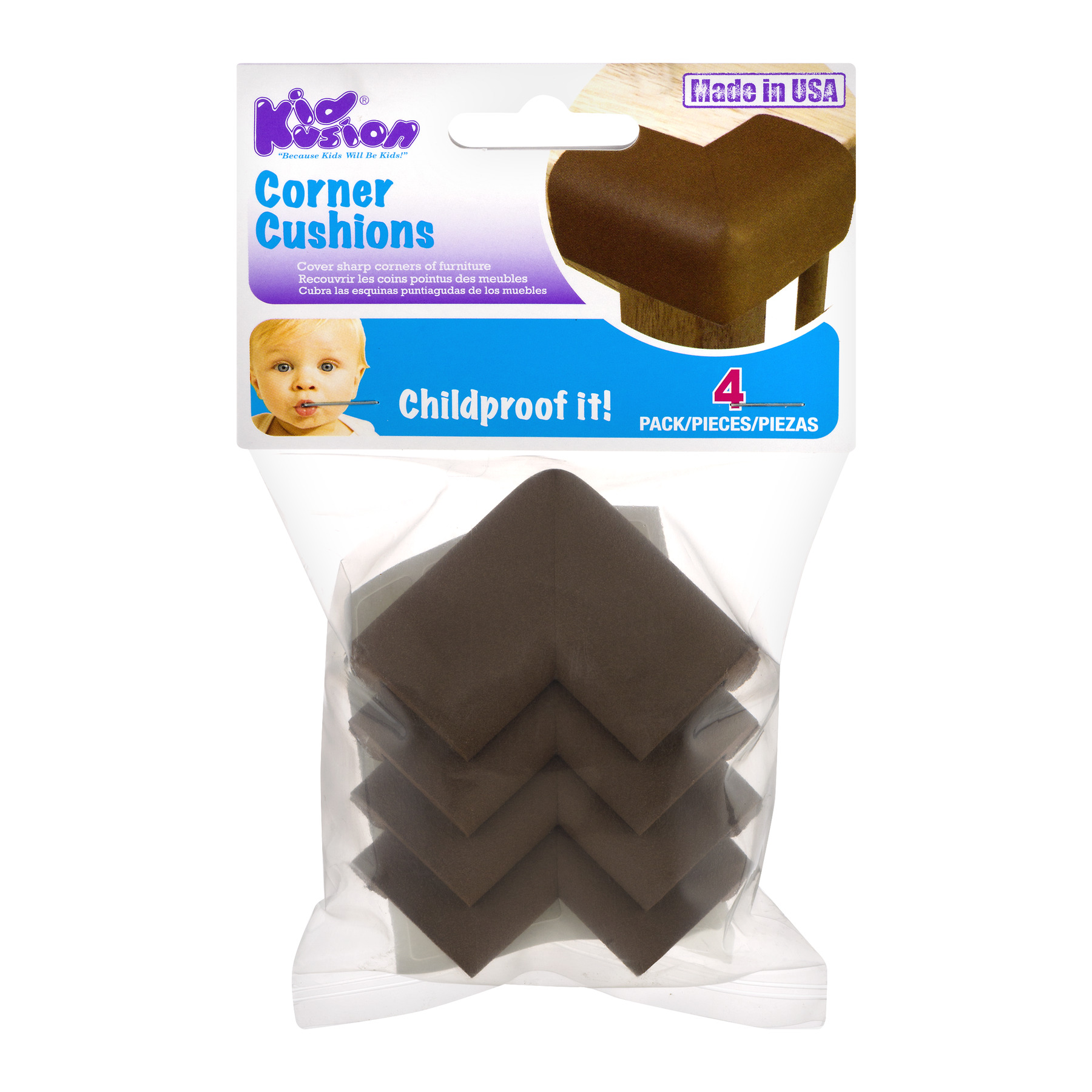 KidKusion Corner Cushions, 1.0 CT
