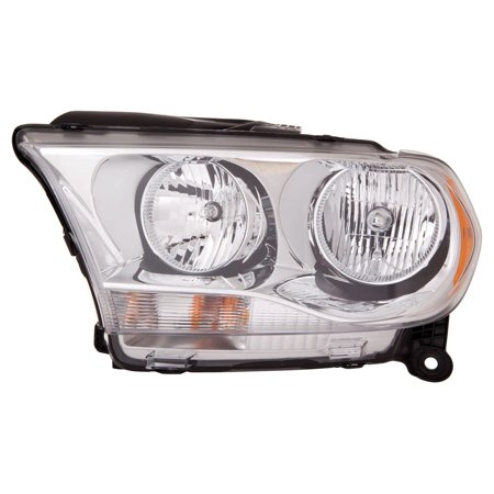 - 2011-2013 Dodge Durango  Aftermarket Driver Side Front Head Lamp Assembly 55079367AC CAPA