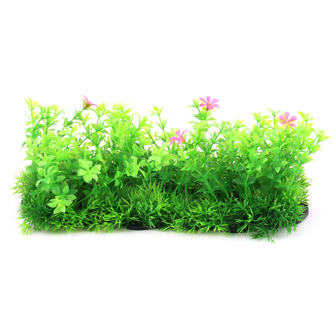 Unique BargainsAquarium Fish Bowl Plastic Artificial Grass Decoration Green 8cm Height