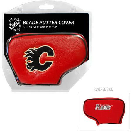 Team Golf NHL Calgary Flames Golf Blade Putter Cover ()