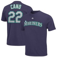 Robinson Cano Seattle Mariners Majestic Youth Player Name & Number T-Shirt - Navy