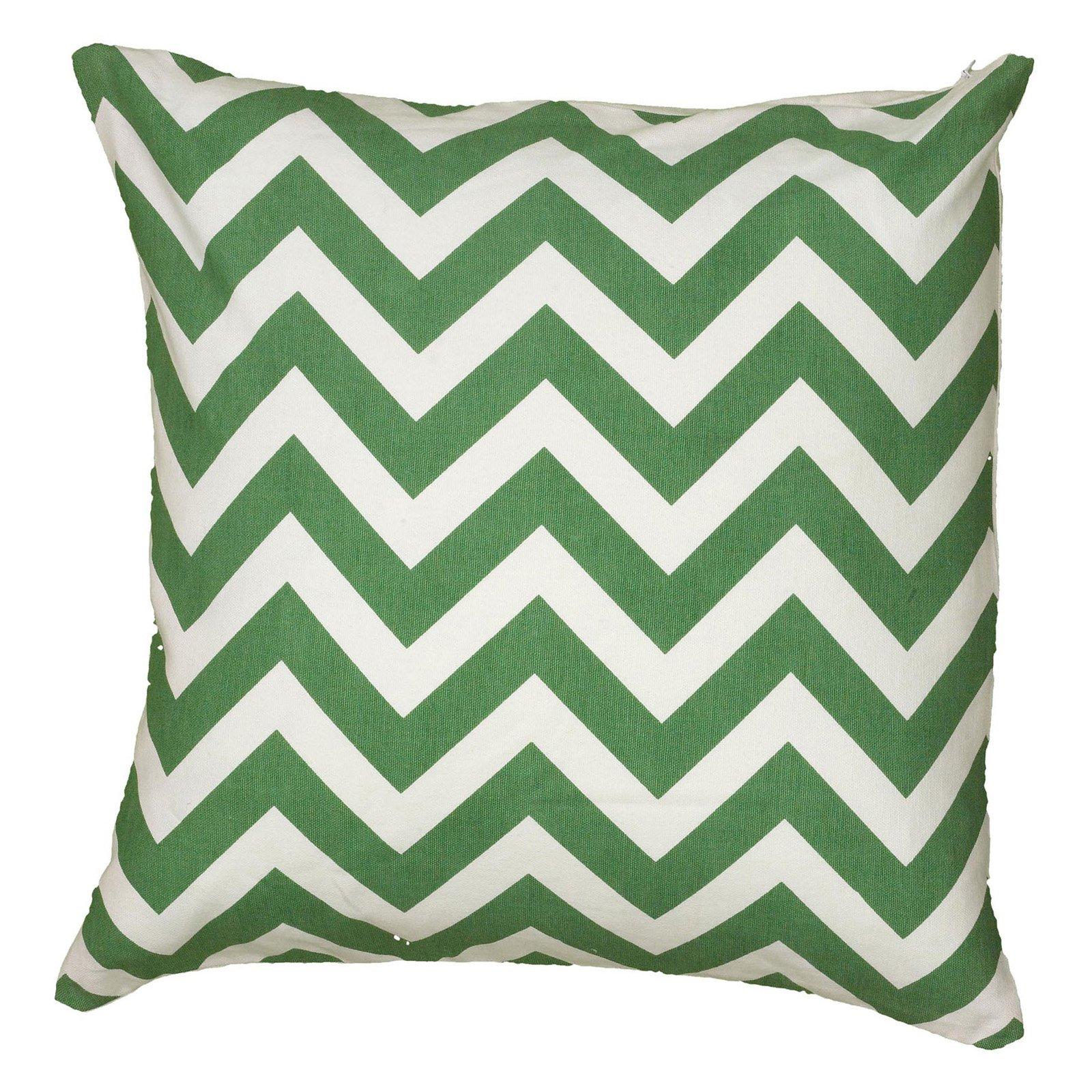 "Rizzy Home chevron18"" x 18""Cottondecorative filled pillow"