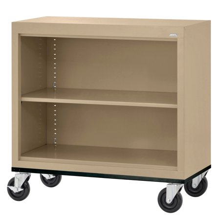 Elite Series Welded Mobile Bookcase