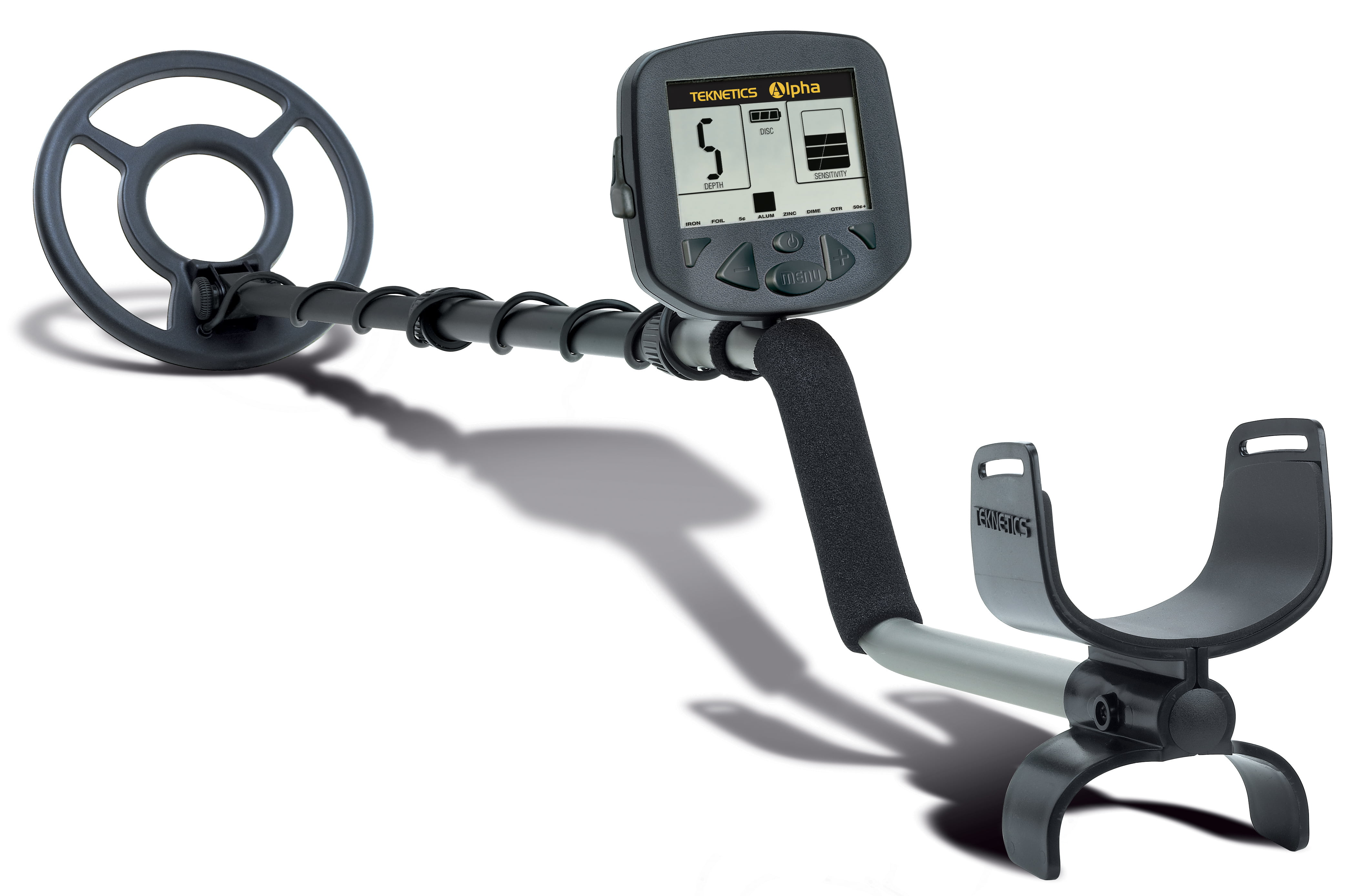 Teknetics Alpha Hobby Metal Detector by First Texas Products