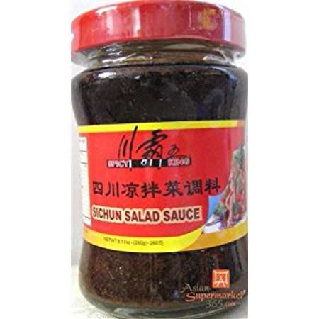 Spicy King Sichuan Salad Sauce 9.17 oz by D&J Asian