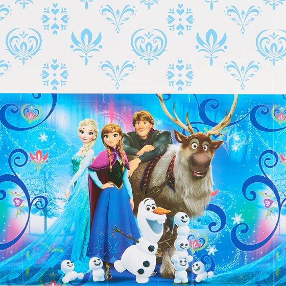 Cool Frozen Plastic Table Cover 54 X 96 Home Interior And Landscaping Ologienasavecom