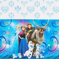 "Frozen Magic Plastic Table Cover 54"" x 96"""