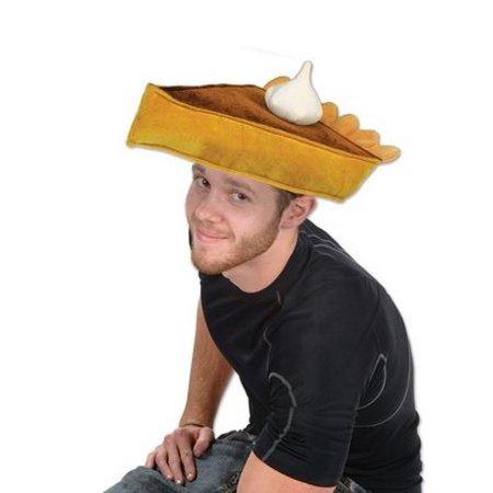 Pumpkin Pie Hat (Plush Pumpkin Pie Hat (1/pkg))