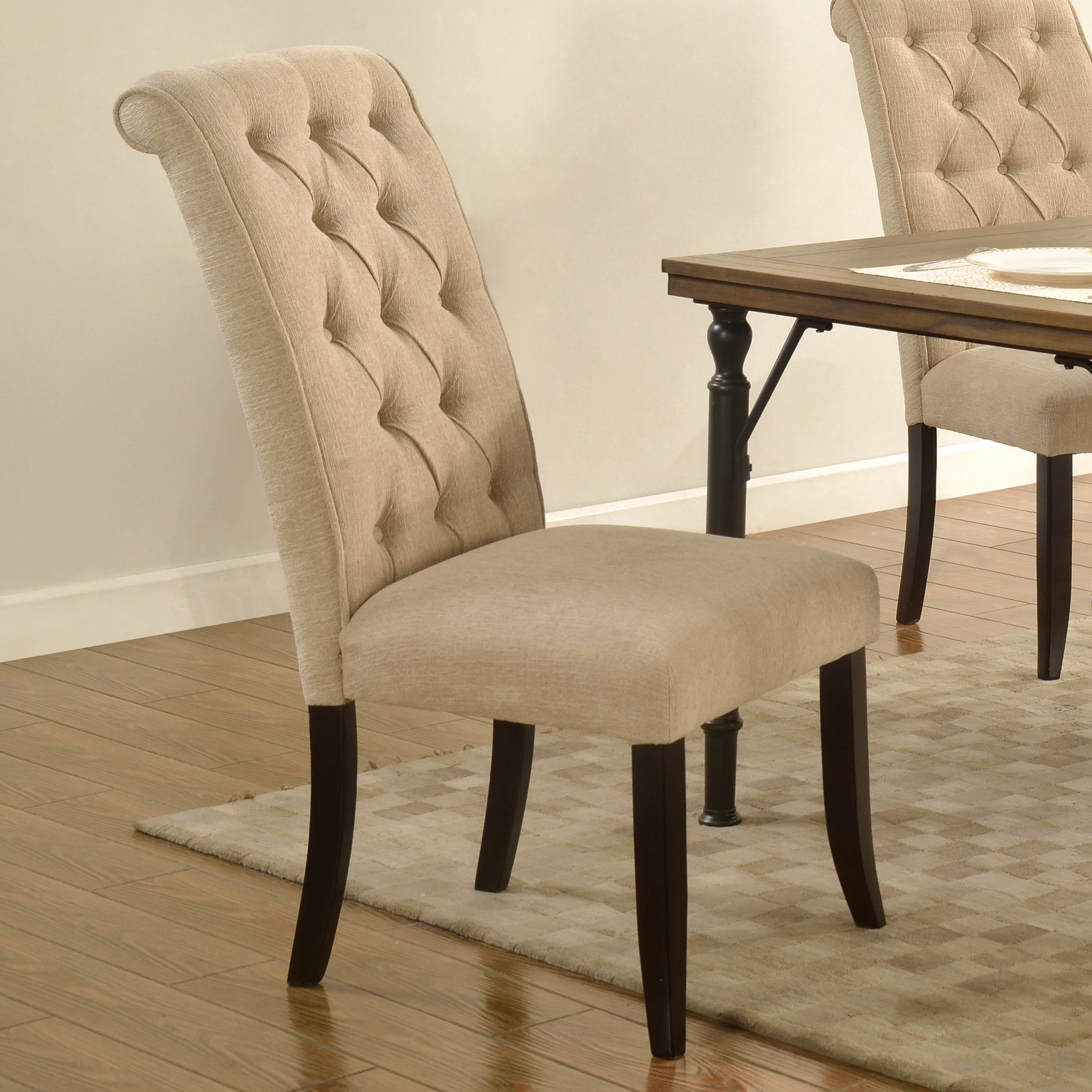 best master manhattan tufted dining chair multiple colors available