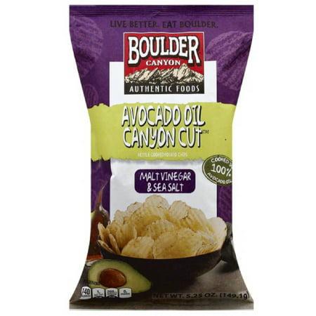 Boulder Canyon Canyon Cut Malt Vinegar Sea Salt Kettle