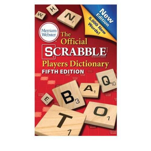 Scrabble Game Dictionary by Hasbro