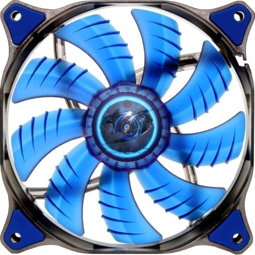 Compucase Enterprises 180686 Compucase Fan Cfd12hbb Cougar 12cm Hydraulic Led 1200rpm Blue Retail