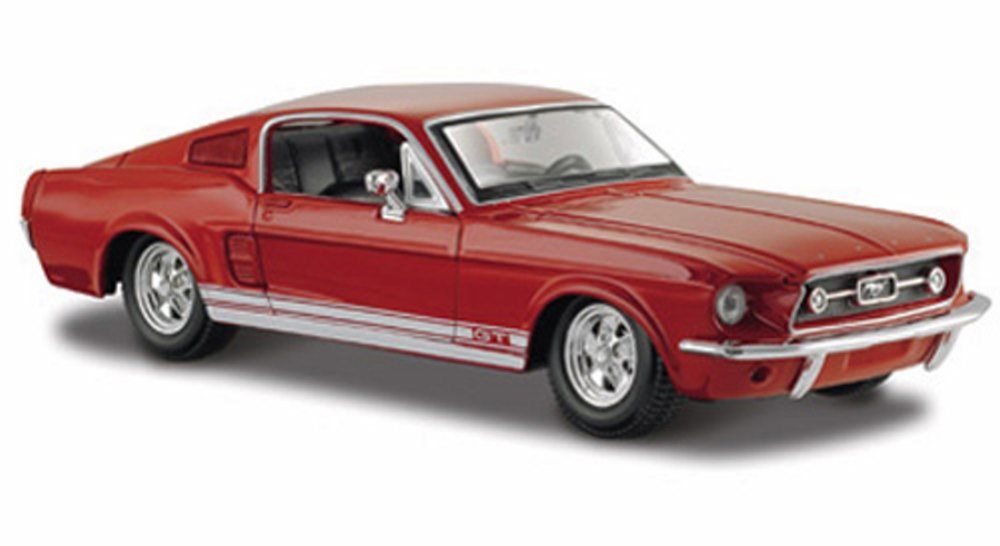1967 Ford Mustang GT-500, Red Maisto 31260 1 24 scale diecast model car by Maisto