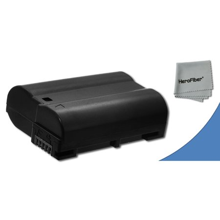 EN-EL15 High Capacity Battery for Nikon DSLR Cameras including the Nikon D750, Nikon D7200, D7000, D7100, D800, D800E, D600, D610, 1V, This ENEL15 Battery is equivalent to the original Nikon EN-EL15 B (Nikon D7000 Battery Grip)