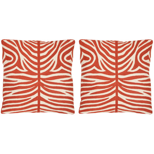 Safavieh Easton Cotton Throw Pillow (Set of 2)
