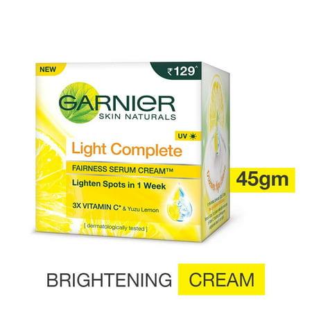 45g Cream (Garnier Light Complete Fairness Serum Cream,)