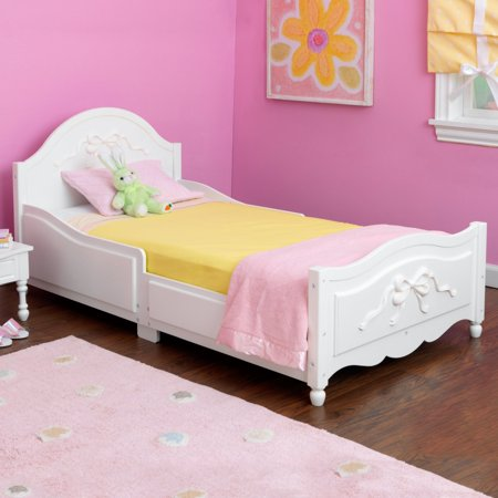 White Toddler Bed Walmart.Kidkraft Tiffany Toddler Bed