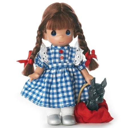 Precious Moments Dolls by The Doll Maker, Linda Rick, Dorothy, Wizard of Oz, 7 inch doll Andy Doll Maker