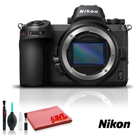 Nikon Z 7 Mirrorless Digital Camera (Intl Model) - With Cleaning Kit