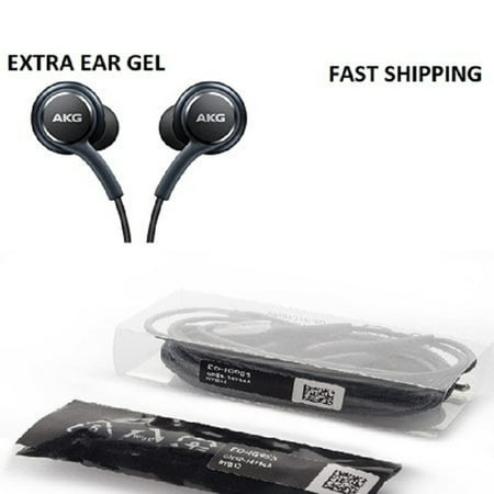 Akg Personal Audio Headphones (OEM  Samsung Galaxy S8 S8+ AKG Ear Buds Headphones Headset EO-IG955 with extra ear gel  New)