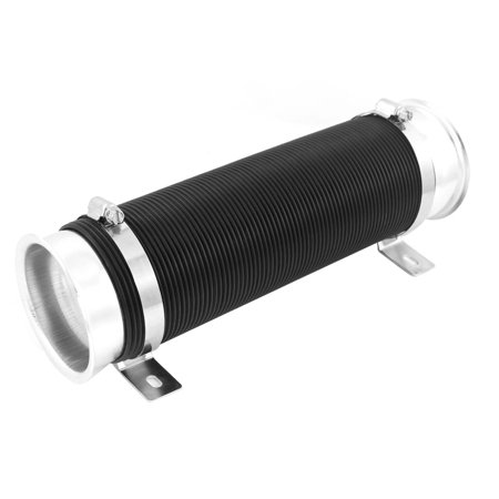 Car Auto 75mm Dia Cold Flexible Expandable 1M Long Air Intake Pipe Tubing - image 1 of 1
