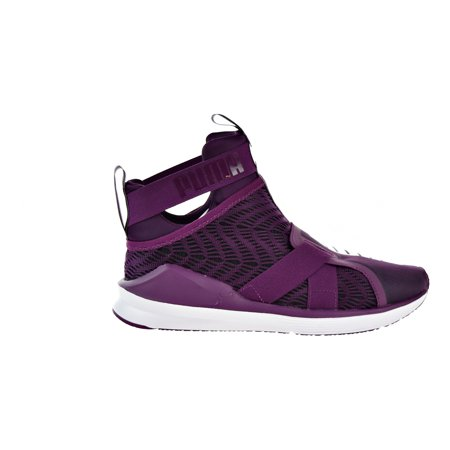 daf1843e41e PUMA - Puma Fierce Strap Swirl Womens Shoes Dark Purple Puma White 190023-03  - Walmart.com