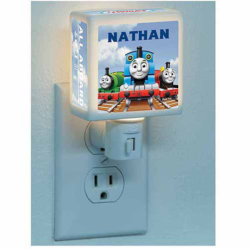 Personalized Thomas & Friends All Aboard Nightlight