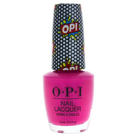 Nail Lacquer - NL P50 Pink Bubbly by OPI for Women - 0.5 oz Nail Polish - Pink Polish
