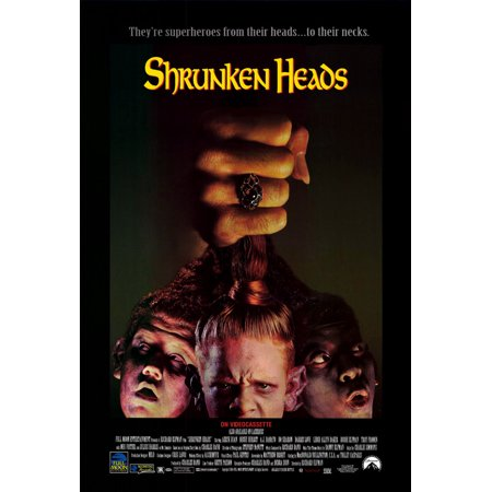 Shrunken Heads POSTER Movie Mini Promo](Shrunken Heads For Sale)