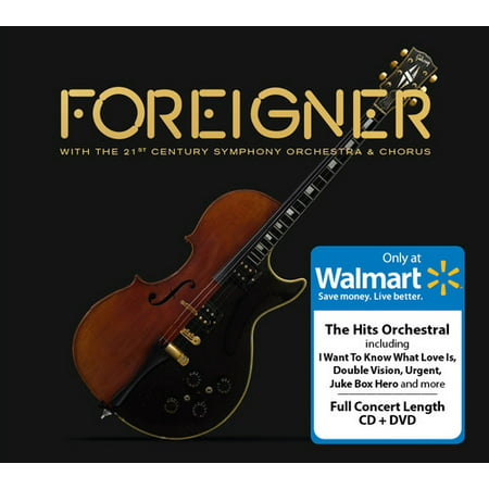 Foreigner with The 21st Century Symphony Orchestra & Chorus (Walmart Exclusive) (CD +