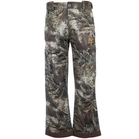 Realtree Mens Camo Techshell Hunting Pant Realtree Max1 XT Size 2X Large Camouflage Hunting Pants