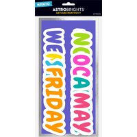Astrobrights Back to School Days of the Week/Months of the Year Combo Pack