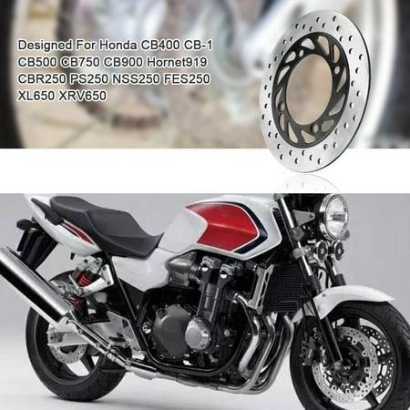 YLSHRF Brake Disc for Honda    CB400 CB-1 CB500 ,240mm Motorcycle Round Rear Brake Disc for Honda CB400 CB-1 CB500 CB750 CB900 Hornet919,Brake Disc