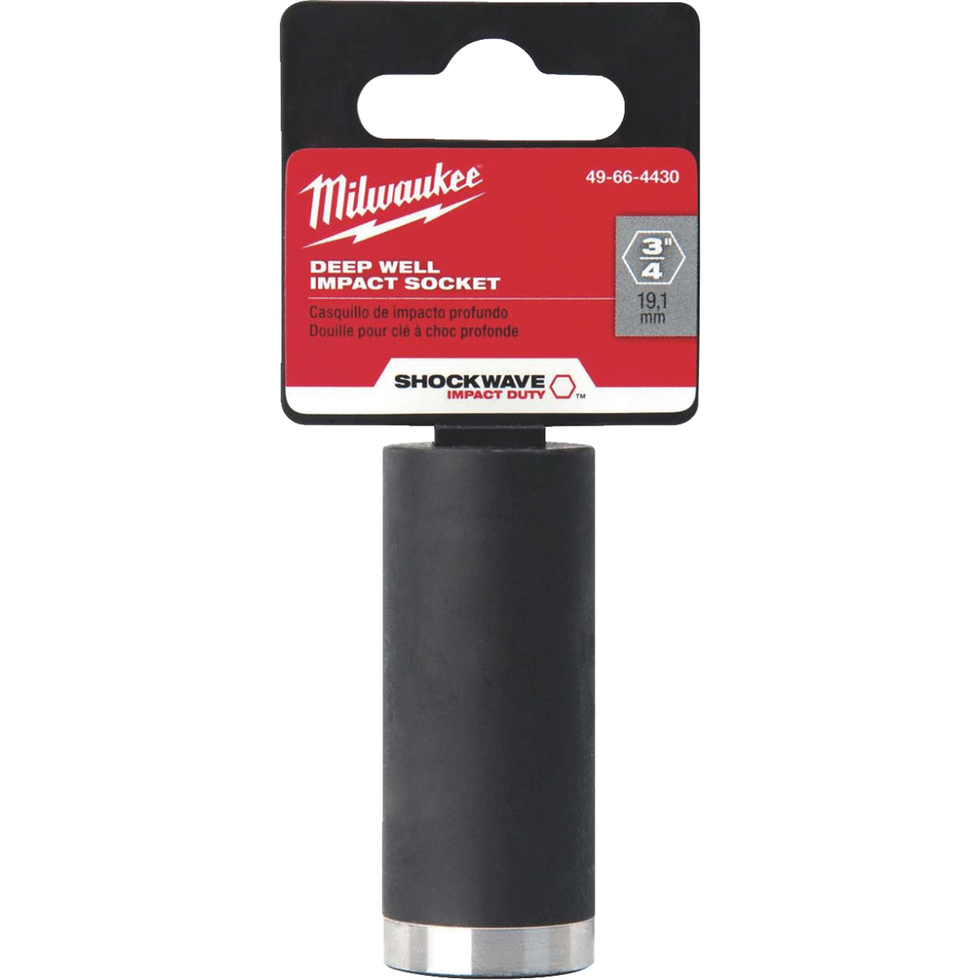 Milwaukee Shockwave Deep Impact Socket