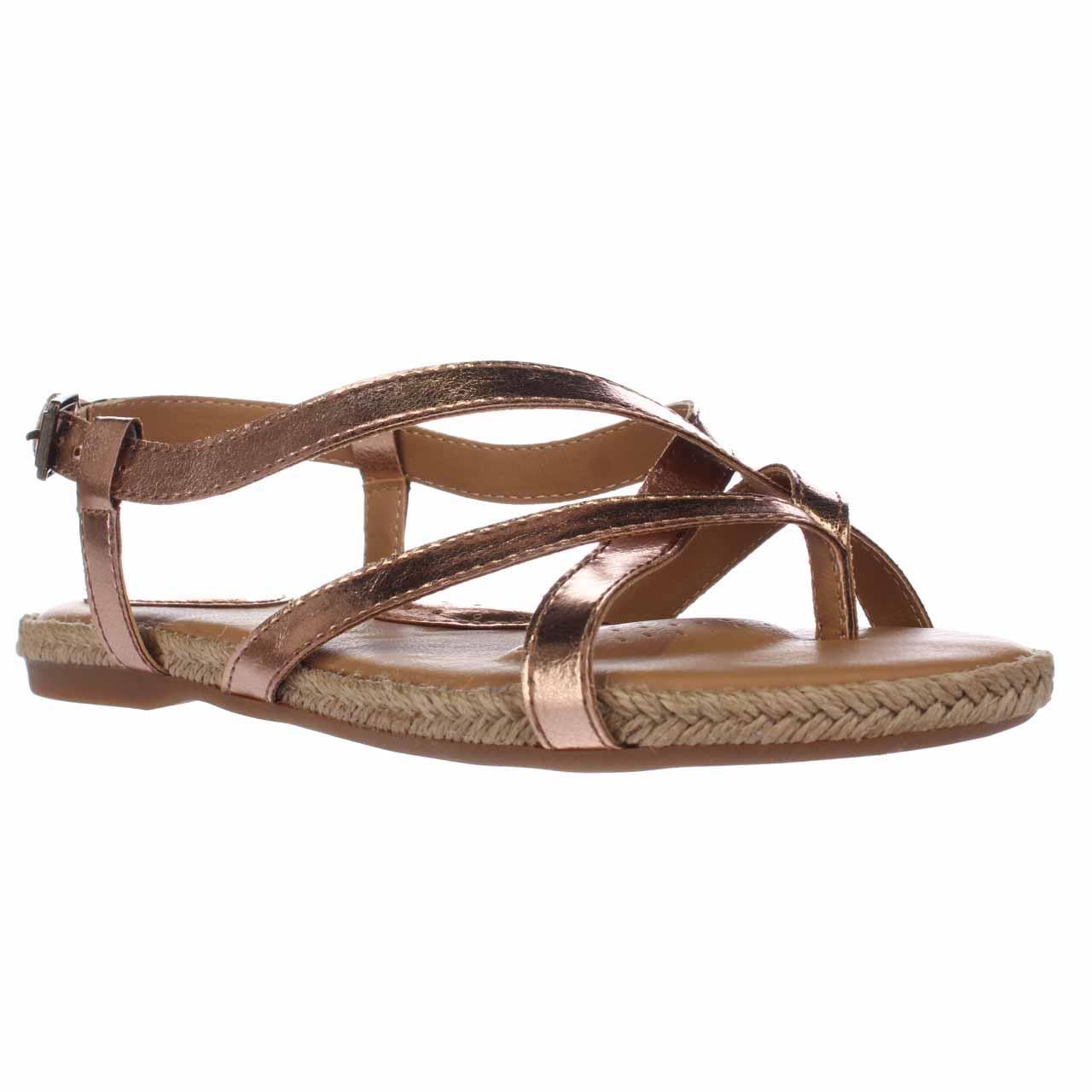 Womens B.O.C. Born Concept Avram Flat Comfrot Sandals - G...