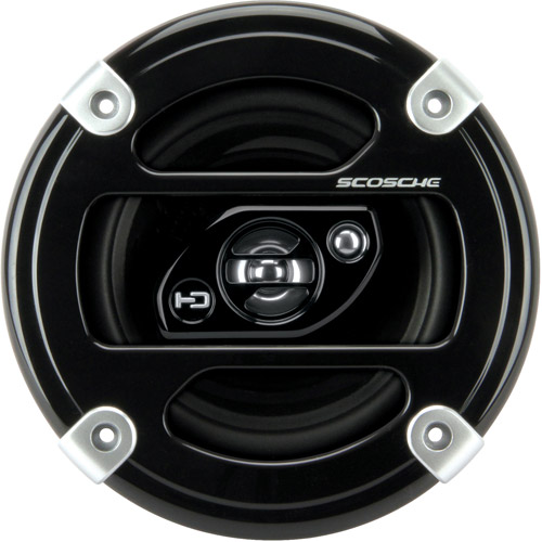 "Scosche HD5253 - 5.25"" 3-Way, Car Speakers Car Speakers (Pair of Speakers)"