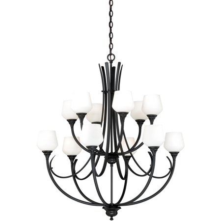 Chandeliers 12 Light Fixtures With Oil Rubbed Bronze Finish Steel Material Medium 36 1200 Watts